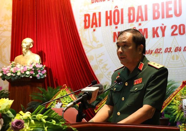 Trung tướng Phùng Sĩ Tấn giữ chức Bí thư Đảng ủy Bộ Tổng Tham mưu, nhiệm kỳ 2020-2025 - Ảnh 4.