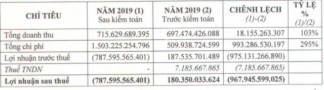 Giảm gần 1.000 tỷ lợi nhuận sau kiểm toán, KCN Hiệp Phước (HPI) lỗ ròng 787 tỷ năm 2019, âm vốn chủ sở hữu - Ảnh 1.