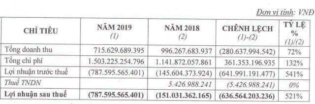 Giảm gần 1.000 tỷ lợi nhuận sau kiểm toán, KCN Hiệp Phước (HPI) lỗ ròng 787 tỷ năm 2019, âm vốn chủ sở hữu - Ảnh 2.