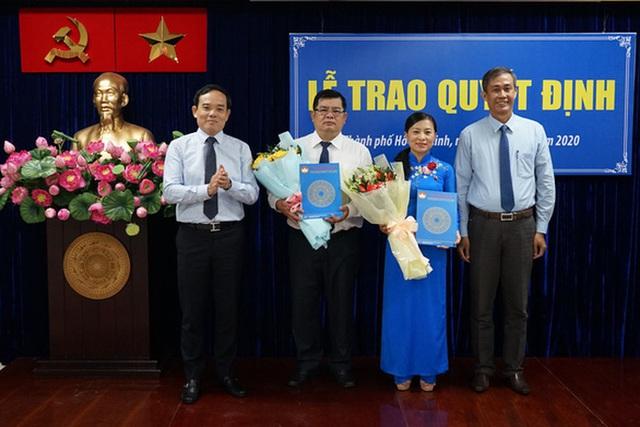 Ủy ban MTTQ TP HCM chính thức có thêm 2 phó chủ tịch  - Ảnh 1.