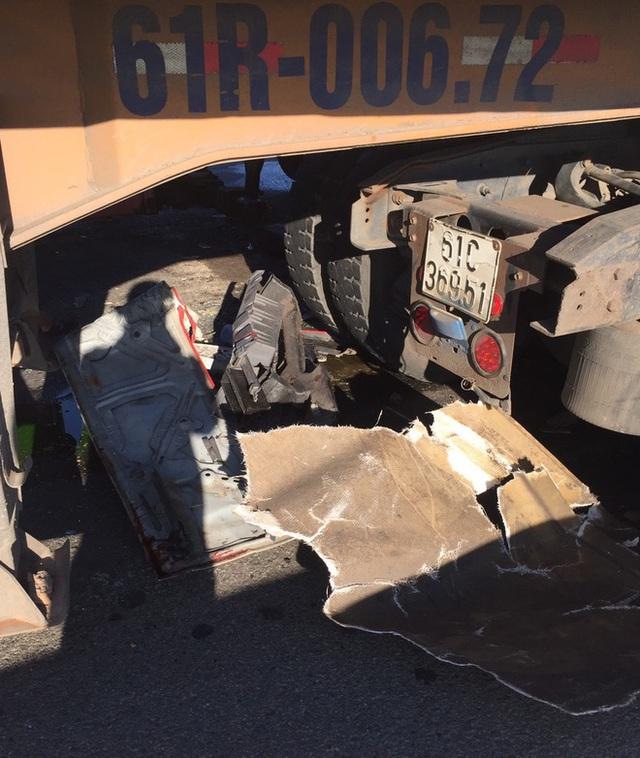Xe tải đối đầu với xe container trên quốc lộ khiến 1 người chết, 2 người bị thương - Ảnh 5.
