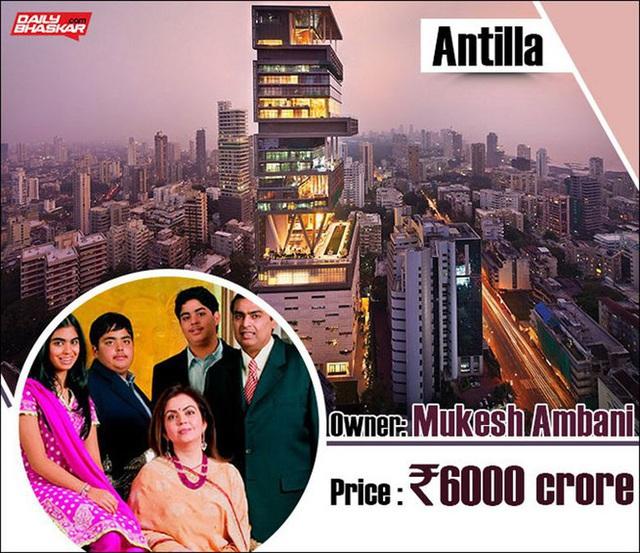 Chiêm ngưỡng siêu biệt thự ở Mumbai của tỷ phú giàu nhất châu Á - Ảnh 1.