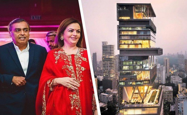 Chiêm ngưỡng siêu biệt thự ở Mumbai của tỷ phú giàu nhất châu Á - Ảnh 2.