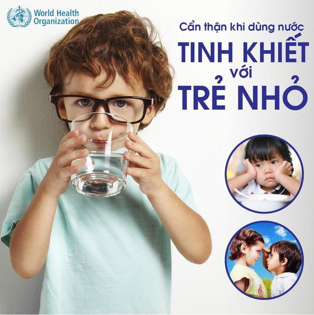 WHO cảnh báo rủi ro dùng nước tinh khiết với trẻ nhỏ - Ảnh 3.