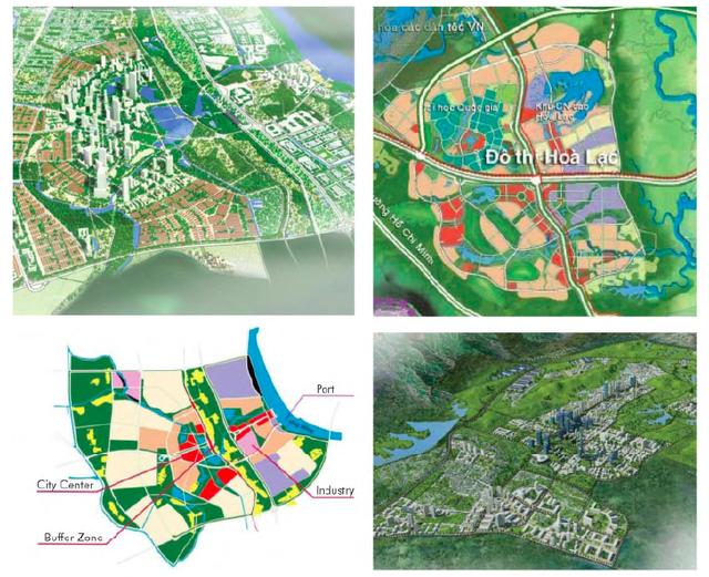 """Siêu đô thị vệ tinh Hòa Lạc hơn 17.000ha đang quy tụ những """"ông lớn"""" BĐS, dự án nào? - Ảnh 2."""