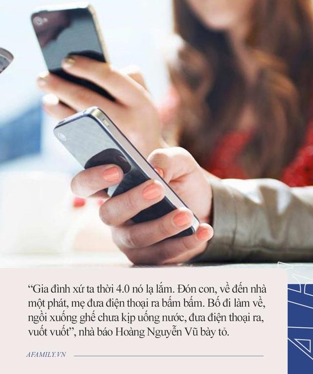 Nhà báo Hoàng Nguyên Vũ: Làm ơn, về nhà vứt cái điện thoại xuống để quan tâm và dạy dỗ con cái - Ảnh 2.