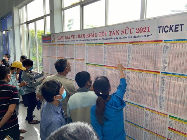 Ngày đầu bán vé Tết Tân Sửu 2021: Ga Sài Gòn vắng khách vì hàng chục nghìn người đã mua vé qua mạng - Ảnh 5.