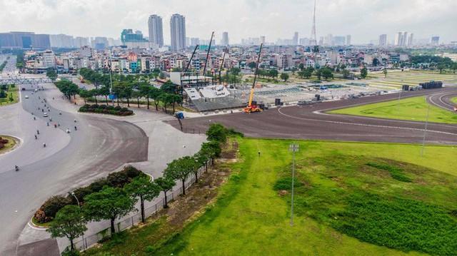 CLIP: Tháo dỡ toàn bộ khán đài trường đua F1 Mỹ Đình  - Ảnh 2.