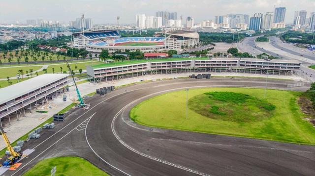 CLIP: Tháo dỡ toàn bộ khán đài trường đua F1 Mỹ Đình  - Ảnh 4.