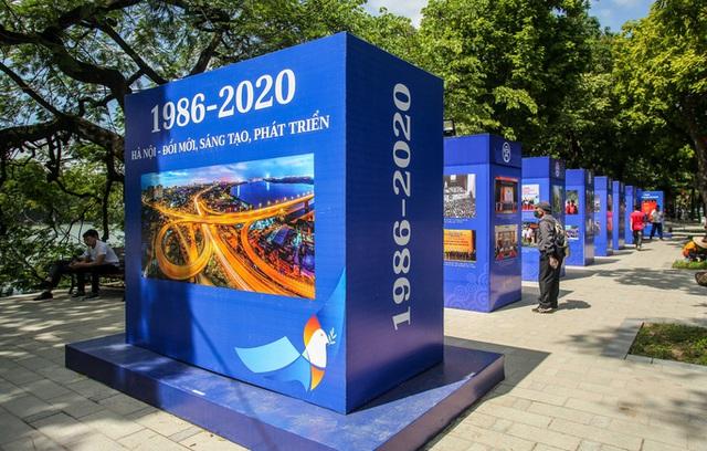 CLIP: Hà Nội rực rỡ cờ hoa kỷ niệm 1010 năm Thăng Long - Hà Nội  - Ảnh 4.