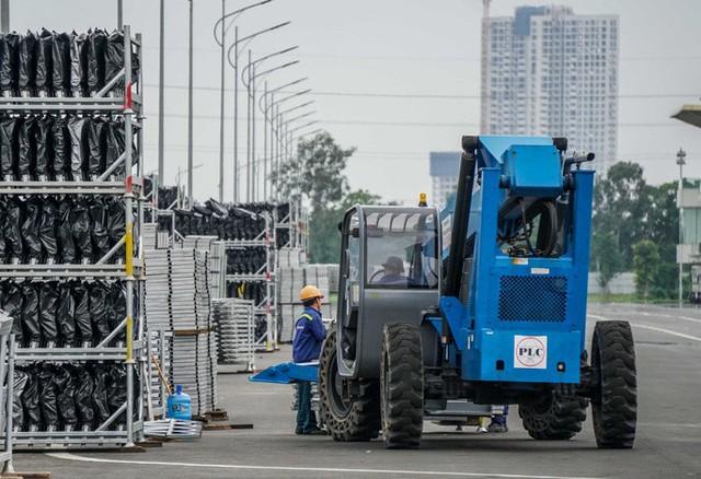 CLIP: Tháo dỡ toàn bộ khán đài trường đua F1 Mỹ Đình  - Ảnh 6.