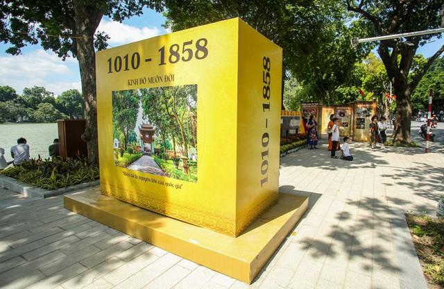 CLIP: Hà Nội rực rỡ cờ hoa kỷ niệm 1010 năm Thăng Long - Hà Nội  - Ảnh 7.