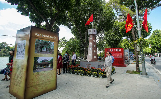 CLIP: Hà Nội rực rỡ cờ hoa kỷ niệm 1010 năm Thăng Long - Hà Nội  - Ảnh 8.
