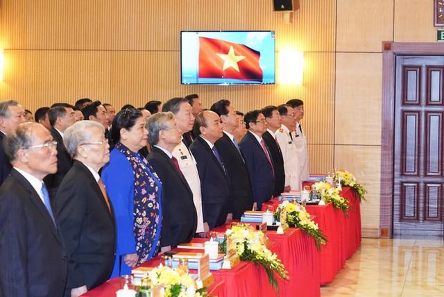 Hình ảnh Thủ tướng Nguyễn Xuân Phúc dự Đại hội Đảng bộ Công an Trung ương - Ảnh 3.