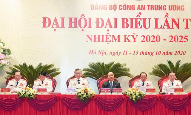 Hình ảnh Thủ tướng Nguyễn Xuân Phúc dự Đại hội Đảng bộ Công an Trung ương - Ảnh 4.