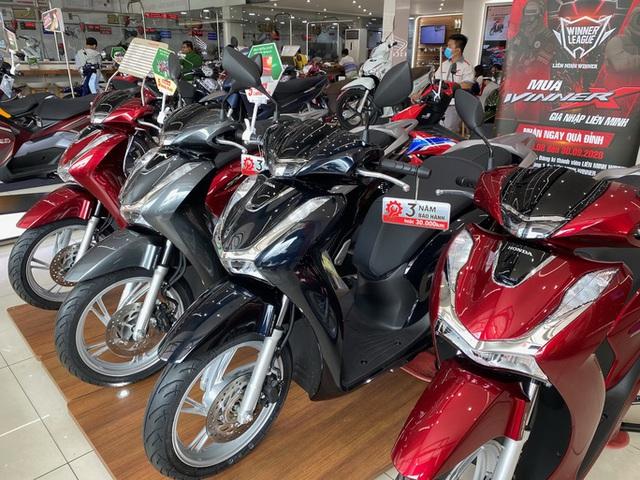 Hãng xe Honda Việt Nam doanh số sụt giảm mạnh - Ảnh 1.