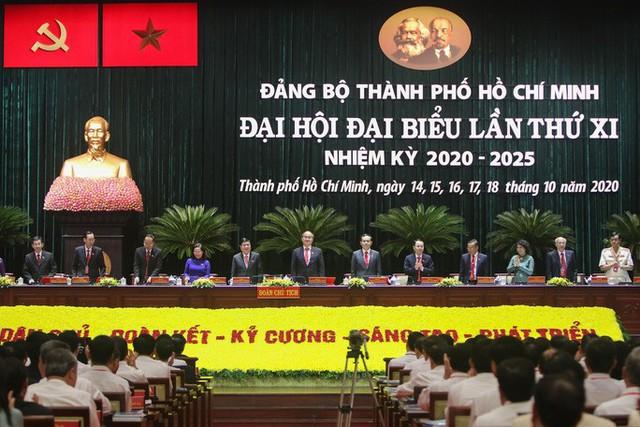 Hình ảnh phiên trù bị Đại hội Đảng bộ TP HCM lần thứ XI  - Ảnh 3.