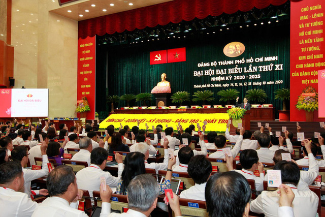Hình ảnh phiên trù bị Đại hội Đảng bộ TP HCM lần thứ XI  - Ảnh 4.
