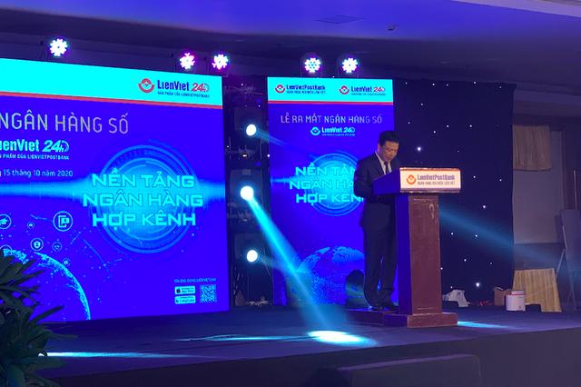 LienVietPostBank ra mắt ngân hàng số mới, sẽ xoá sổ Ví Việt - Ảnh 1.
