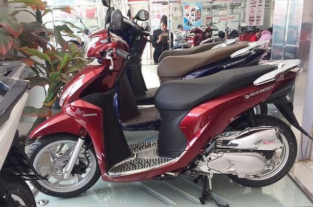 Ngấm đòn COVID-19, thị trường xe máy sụt giảm mạnh - Ảnh 2.