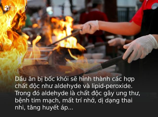 Đây là 2 thói quen sử dụng dầu ăn cực kỳ nguy hiểm của người Việt, chủ quan có thể đẩy gia đình bạn đến gần với ung thư và nhiều bệnh trầm trọng  - Ảnh 3.