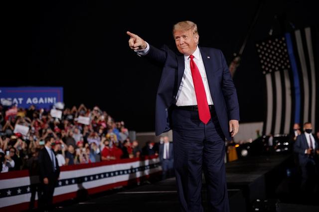 Tổng thống Donald Trump đổi chiến thuật tranh cử  - Ảnh 1.
