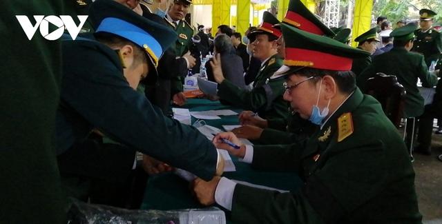 Xúc động Lễ viếng và truy điệu 13 liệt sĩ hy sinh khi tìm kiếm cứu nạn tại Rào Trăng 3 - Ảnh 38.