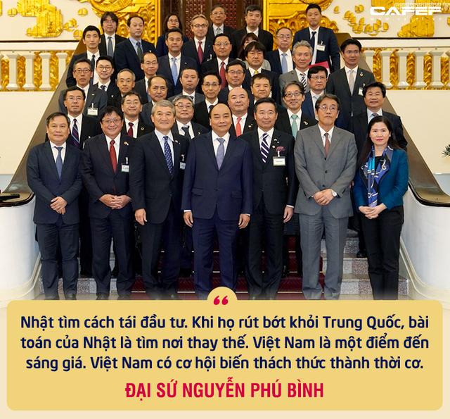 """Nguyên Thứ trưởng Ngoại giao Nguyễn Phú Bình: Mối duyên đặc biệt từ các chuyến thăm của Thủ tướng Nhật và sự tôn trọng """"bất ngờ"""" từ gần 40 năm trước - Ảnh 2."""