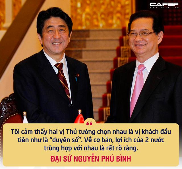 """Nguyên Thứ trưởng Ngoại giao Nguyễn Phú Bình: Mối duyên đặc biệt từ các chuyến thăm của Thủ tướng Nhật và sự tôn trọng """"bất ngờ"""" từ gần 40 năm trước - Ảnh 4."""