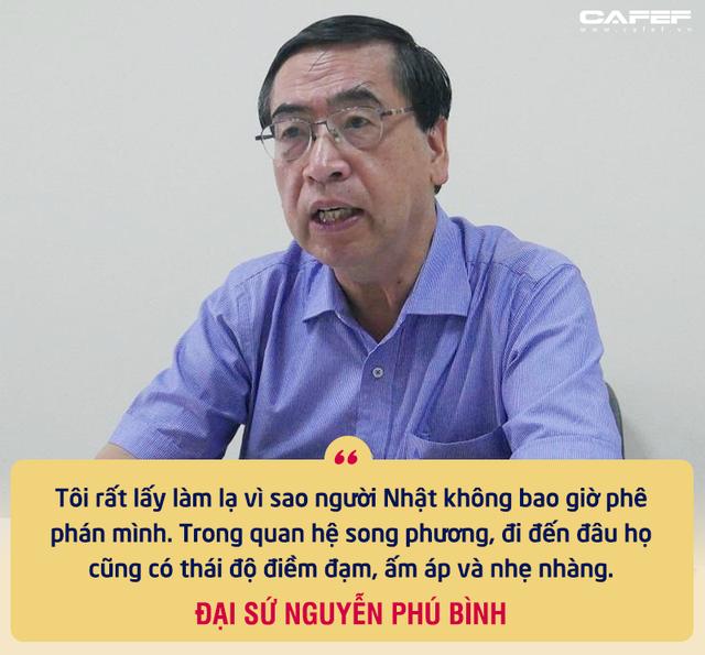"""Nguyên Thứ trưởng Ngoại giao Nguyễn Phú Bình: Mối duyên đặc biệt từ các chuyến thăm của Thủ tướng Nhật và sự tôn trọng """"bất ngờ"""" từ gần 40 năm trước - Ảnh 6."""