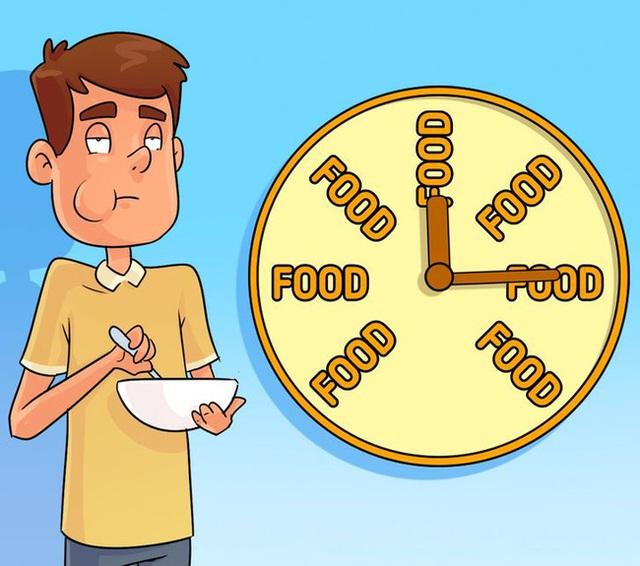 Cứ chờ khi đói mới ăn có thể gây ra ảnh hưởng to lớn đến dạ dày và não, kể cả bạn muốn giảm cân cũng cần bỏ ngay kiểu ăn này - Ảnh 4.