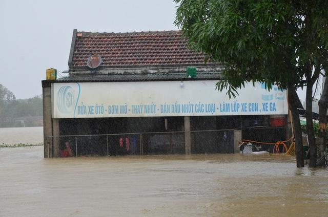 Dân Quảng Bình lùa trâu lên quốc lộ tránh lũ, cứu hộ chạy đua giải cứu bà cụ gãy chân tay kẹt trong nước - Ảnh 3.