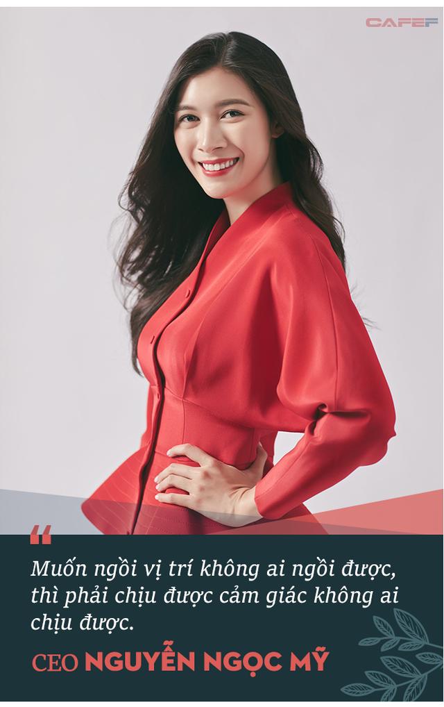 """Nữ CEO Nguyễn Ngọc Mỹ: """"Tôi nhận ra mình không thể trở thành phiên bản thứ hai của bố, tôi quyết định sẽ trở thành phiên bản tốt hơn của chính mình""""! - Ảnh 3."""