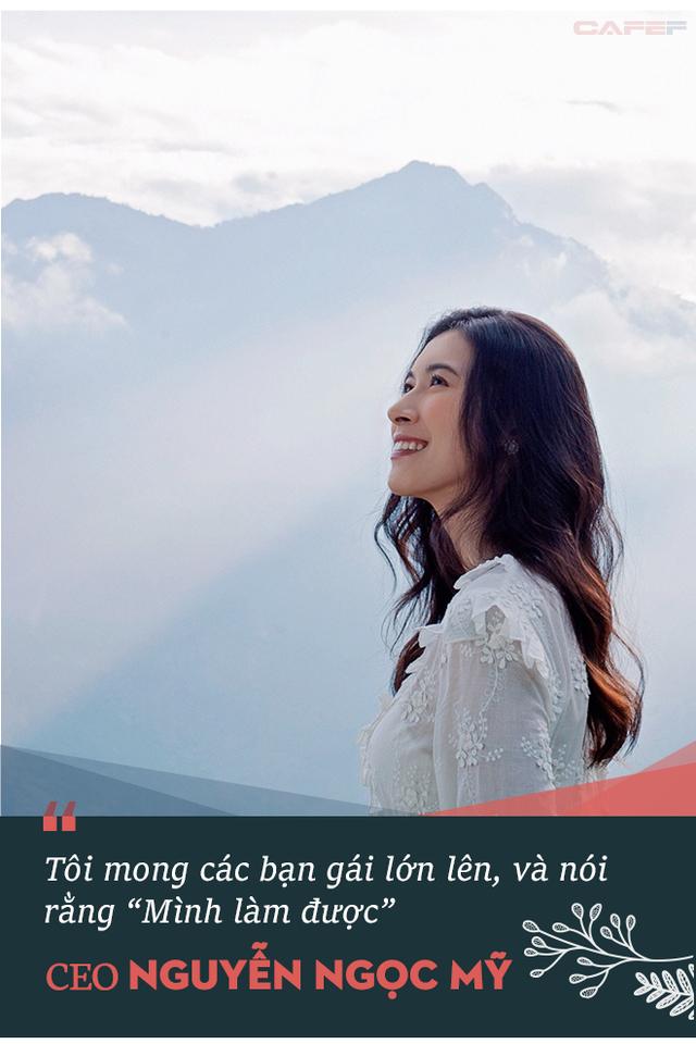 """Nữ CEO Nguyễn Ngọc Mỹ: """"Tôi nhận ra mình không thể trở thành phiên bản thứ hai của bố, tôi quyết định sẽ trở thành phiên bản tốt hơn của chính mình""""! - Ảnh 8."""