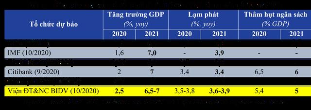 Dự báo tăng trưởng kinh tế Việt Nam quý 4/2020 và năm 2021: Sẽ phục hồi theo chữ V, năm 2021 tăng khoảng 6,5 - 7% - Ảnh 1.