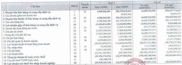 Đức Quân Fortex (FTM) lỗ tiếp 49 tỷ đồng quý 3, nâng tổng lỗ 9 tháng đầu năm lên 150 tỷ đồng - Ảnh 1.