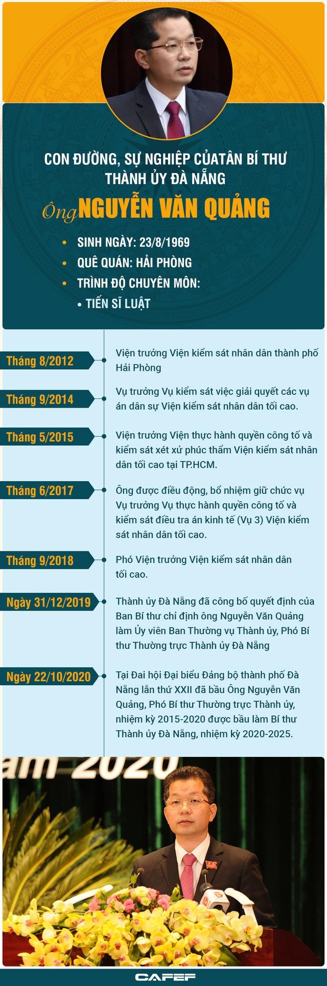 Chân dung và con đường sự nghiệp tân Bí thư Đà Nẵng Nguyễn Văn Quảng - Ảnh 1.