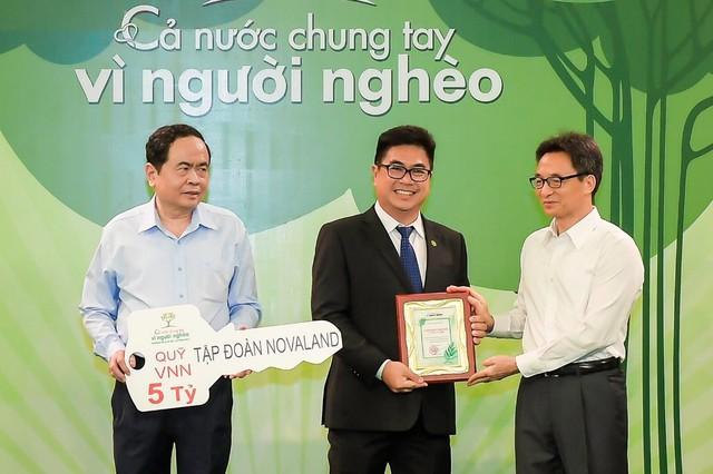 Tập đoàn Novaland ủng hộ 15 tỷ đồng cho 4 tỉnh Miền Trung - Ảnh 1.