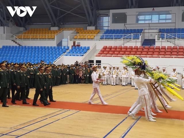 Lễ viếng và truy điệu 22 liệt sĩ Đoàn KTQP 337 hy sinh khi đang làm nhiệm vụ - Ảnh 3.