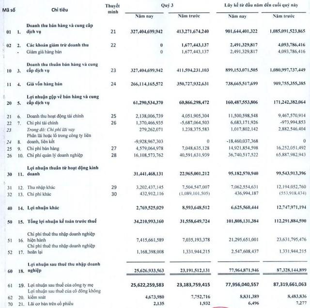 Lợi nhuận 9 tháng cao gấp 20 lần kế hoạch, May mặc Bình Dương (BDG) xin ý kiến cổ đông nâng tỷ lệ chia cổ tức năm 2020 bằng tiền lên 50% - Ảnh 1.