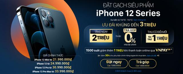 Nhiều hệ thống giảm giá iPhone 12 dù chưa được bán ra - Ảnh 1.