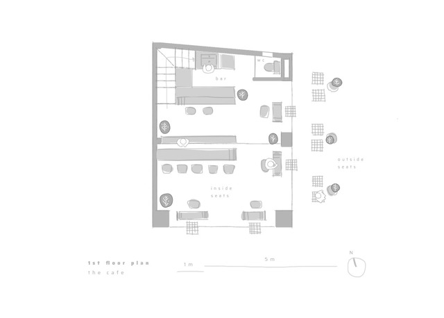 Công trình vừa là nhà cho 7 người ở, vừa là quán cà phê trên mảnh đất 35 m2 ở Huế - Ảnh 11.