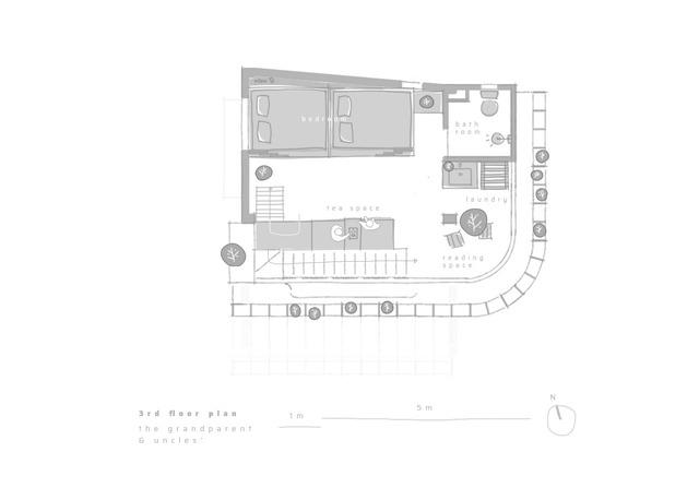 Công trình vừa là nhà cho 7 người ở, vừa là quán cà phê trên mảnh đất 35 m2 ở Huế - Ảnh 12.
