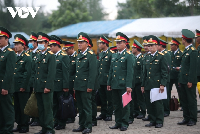 Lễ viếng và truy điệu 22 liệt sĩ Đoàn KTQP 337 hy sinh khi đang làm nhiệm vụ - Ảnh 57.