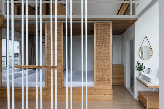 Công trình vừa là nhà cho 7 người ở, vừa là quán cà phê trên mảnh đất 35 m2 ở Huế - Ảnh 7.
