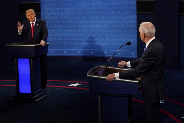 Tổng thống Trump: Tôi tranh cử vì ông và Obama làm quá tệ - Ảnh 1.