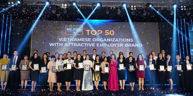 OCB lọt Top 50 thương hiệu nhà tuyển dụng hấp dẫn 2020 do Anphabe bình chọn - Ảnh 1.