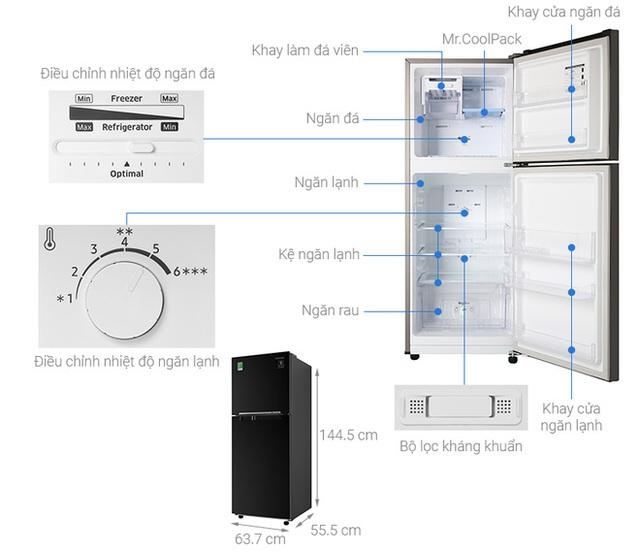 Thuộc top bán chạy nhất, tủ lạnh bình dân đời 2020, có ngăn cấp mềm giảm giá vài triệu đồng - Ảnh 2.