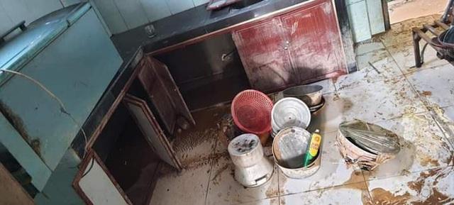 Khung cảnh nhà cửa tan hoang sau trận đại hồng thuỷ ở Quảng Bình: Tài sản bị ngâm nước nhầy nhụa bùn đất, thóc mọc mầm, vật nuôi chết hàng loạt - Ảnh 15.