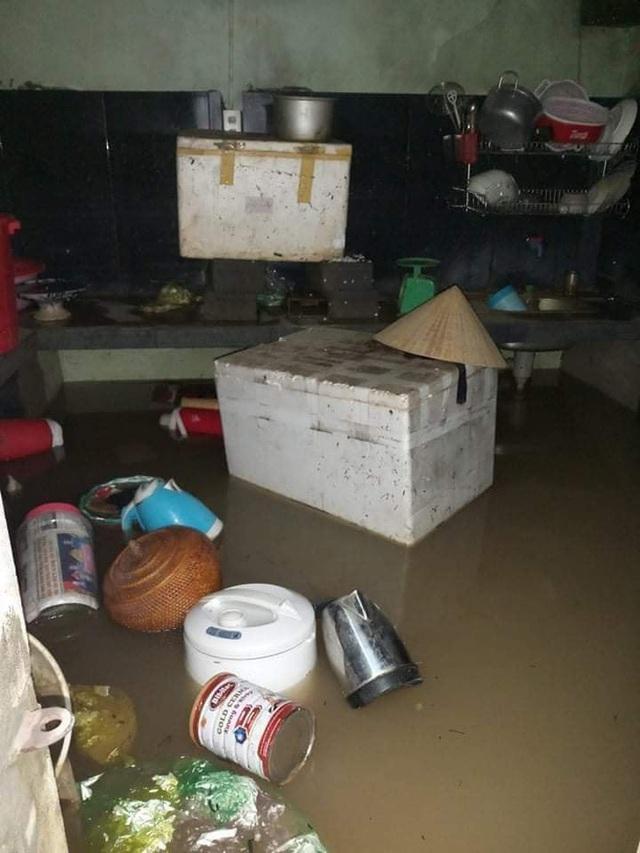 Khung cảnh nhà cửa tan hoang sau trận đại hồng thuỷ ở Quảng Bình: Tài sản bị ngâm nước nhầy nhụa bùn đất, thóc mọc mầm, vật nuôi chết hàng loạt - Ảnh 16.